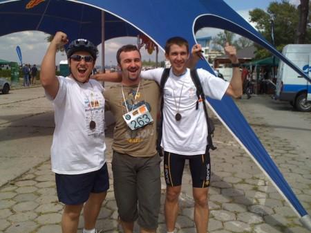EchipaBloggerilor la Triathlon Challenge Mamaia