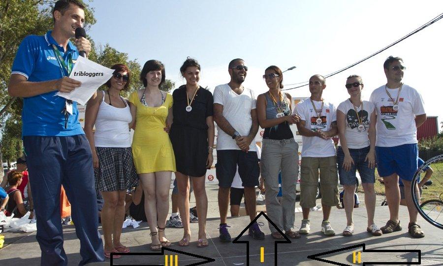 Triathlon Challenge Mamaia 2011_Podiumul bloggerilor